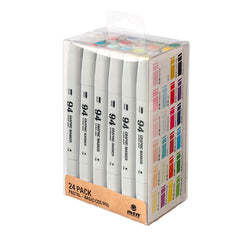 MTN 94 Graphic Marker </br>24 Pack - Primary/Pastel