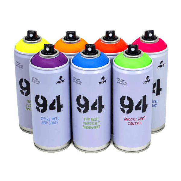 MTN 94 Fluorescent Combo 7 Pack | Spray Planet