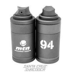 MTN 4 Piece Spray Can Shredder - Gun Metal Grey