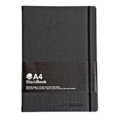 MTN Blackbook </br>Sketch Book </br> A4 Black