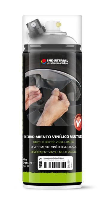 MTN Industrial Vinyl Coating Spray - Metallic Aluminum | Spray Planet
