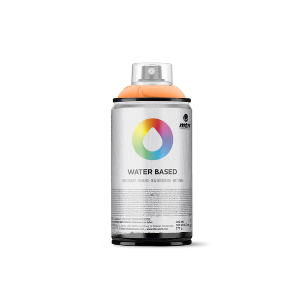 MTN Water Based 300 Spray Paint - Azo Orange | Spray Planet