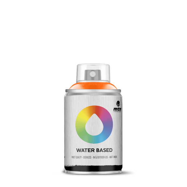MTN Water Based 100 Spray Paint - Azo Orange | Spray Planet