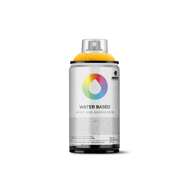 MTN Water Based 300 Spray Paint - Azo Yellow Deep | Spray Planet