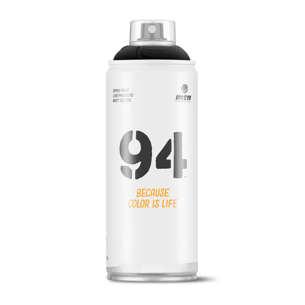 MTN 94 Spray Paint - Black | Spray Planet