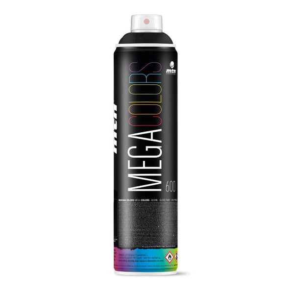 Montana Colors MTN Mega Spray Paint - 600ml - RV9011 - Black
