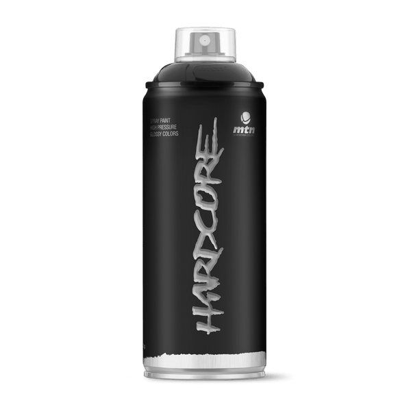 MTN Hardcore Spray Paint - Black | Spray Planet