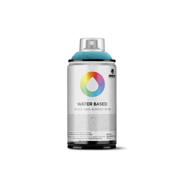 MTN Water Based 300 Spray Paint - Blue Green Deep | Spray Planet