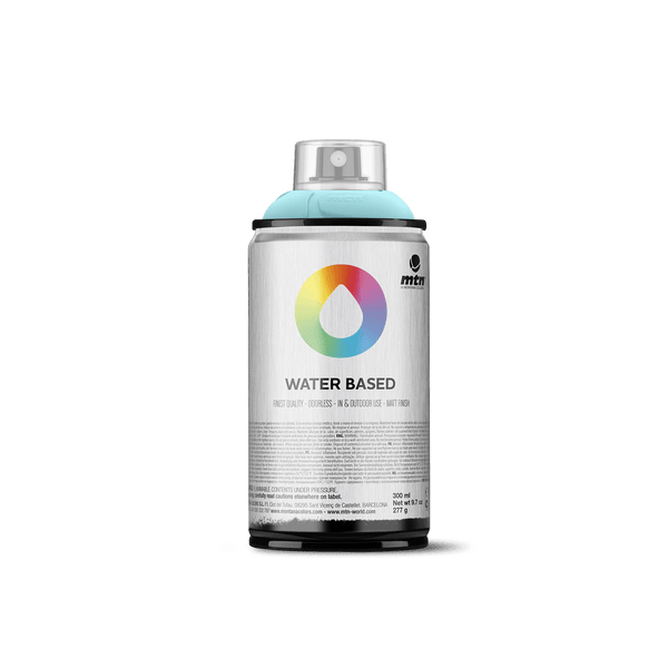 MTN Water Based 300 Spray Paint - Blue Green Light | Spray Planet