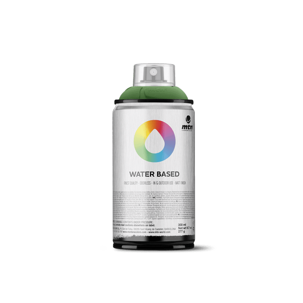 MTN Water Based 300 Spray Paint - Brilliant Green Deep | Spray Planet