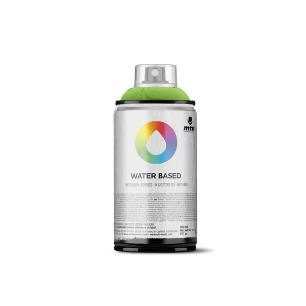 MTN Water Based 300 Spray Paint - Brilliant Green | Spray Planet