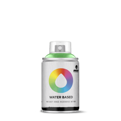 MTN Water Based 100 Spray Paint - Brilliant Green (W1RV-6018)