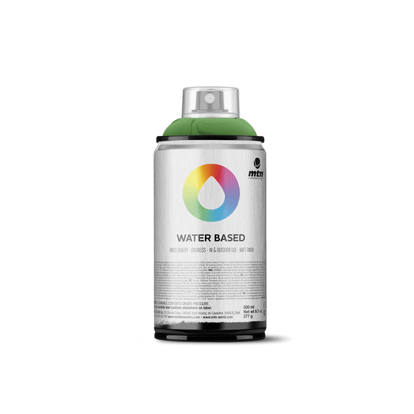 MTN Water Based 300 Spray Paint - Brilliant Yellow Green Dark | Spray Planet