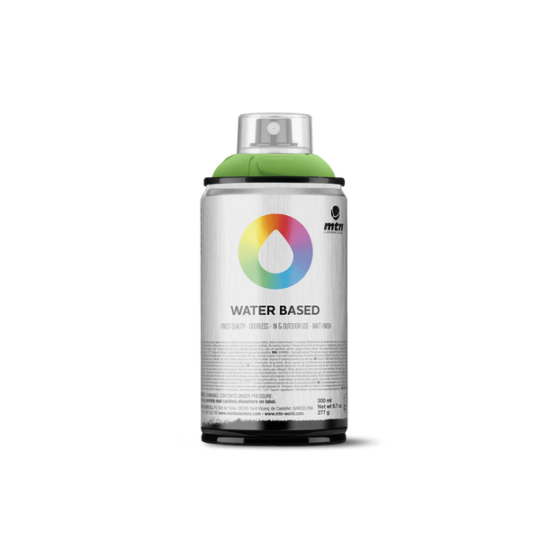 MTN Water Based 300 Spray Paint - Brilliant Yellow Green Deep | Spray Planet