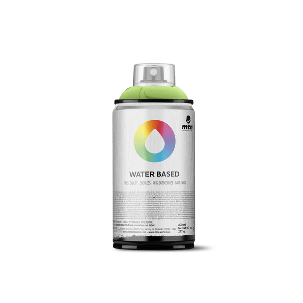 MTN Water Based 300 Spray Paint - Brilliant Yellow Green Medium | Spray Planet