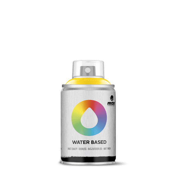 MTN Water Based 100 Spray Paint - Cadmium Yellow Medium | Spray Planet