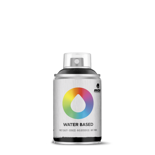 MTN Water Based 100 Spray Paint - Carbon Black | Spray Planet