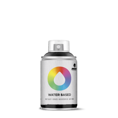MTN Water Based 100 Spray Paint - Carbon Black (W1RV-9011)