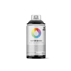 MTN Water Based 300 Spray Paint - Carbon Black (WRV-9011)