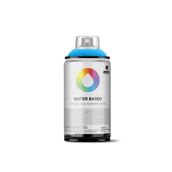 MTN Water Based 300 Spray Paint - Cerulean Blue | Spray Planet