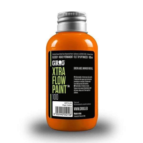 Grog Xtra Flow 100ml Paint Refill - Clockwork Orange