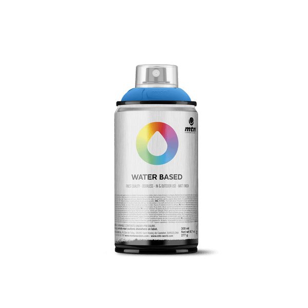 MTN Water Based 300 Spray Paint - Cobalt Blue | Spray Planet