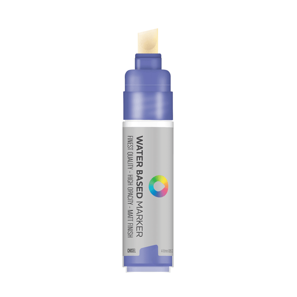 MTN Water Based Chisel Marker 8mm - Dioxazine Purple | Spray Planet
