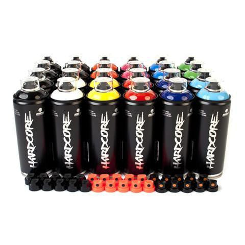 MTN Hardcore Essential 24 Spray Can Pack | Spray Planet