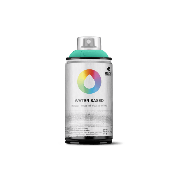 MTN Water Based 300 Spray Paint - Emerald Green Light | Spray Planet