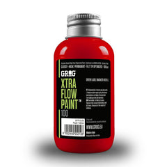Grog Xtra Flow 100ml Paint Refill - Ferrari Red
