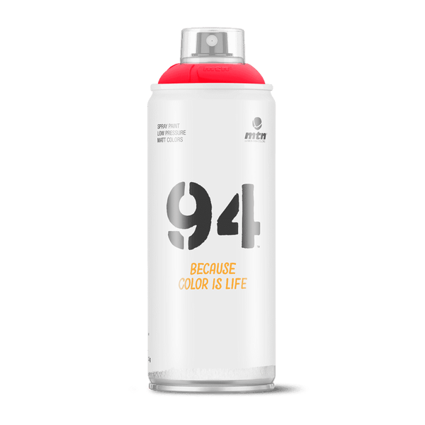 MTN 94 Spray Paint - Fluorescent Red | Spray Planet