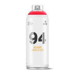 MTN 94 Spray Paint - Fluorescent Red (9RVF Red)