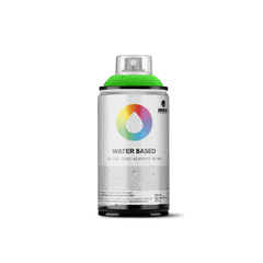 MTN Water Based 300 Spray Paint - Fluorescent Green
