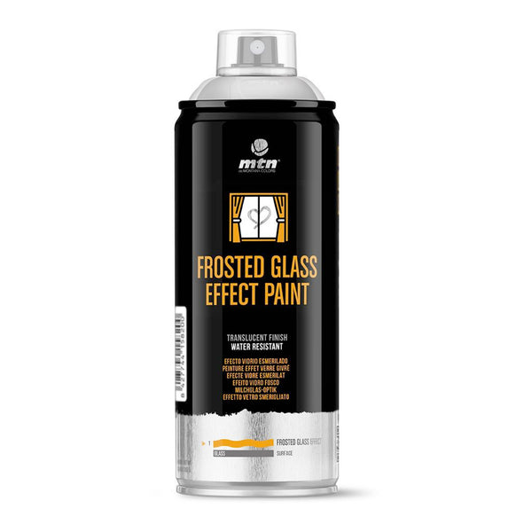 MTN PRO Frosted Glass Effect | Spray Planet