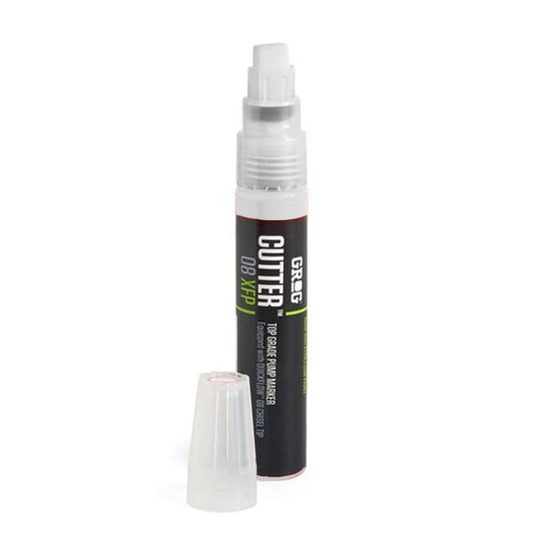 Grog Cutter 8 Paint Marker - 8mm - Bogota White