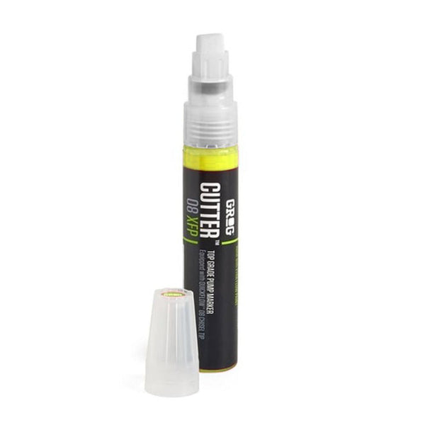 Grog Cutter 8 Paint Marker - 8mm - Flash Yellow