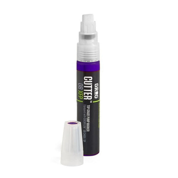 Grog Cutter 8 Paint Marker - 8mm - Goldrake Purple