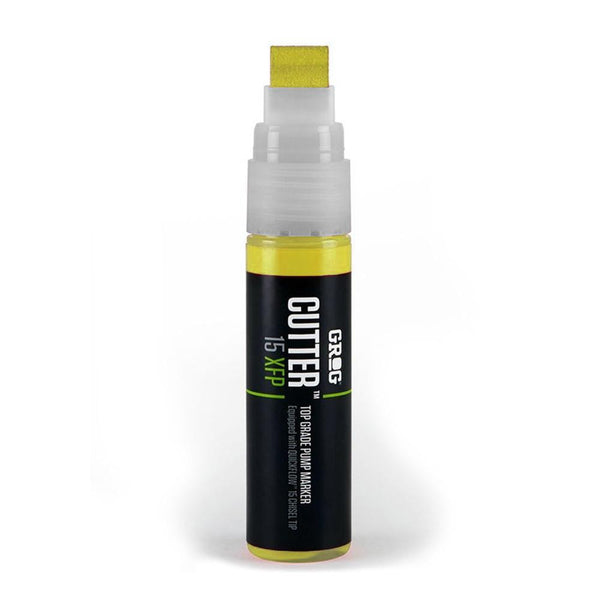 Grog Cutter 15 Paint Marker - 15mm - Flash Yellow