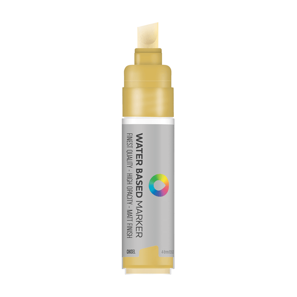 MTN Water Based Chisel Marker 8mm - Frame Gold | Spray Planet