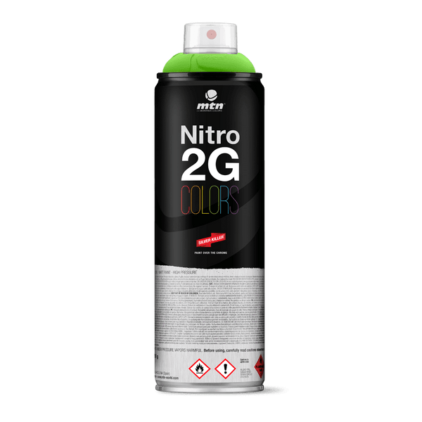 MTN Nitro 2G Colors Spray Paint - Guacamole Green | Spray Paint
