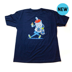 Happy Spraymore Tee - Navy