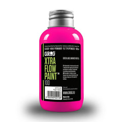 Grog Xtra Flow 100ml Paint Refill - Jellyfish Fuchsia