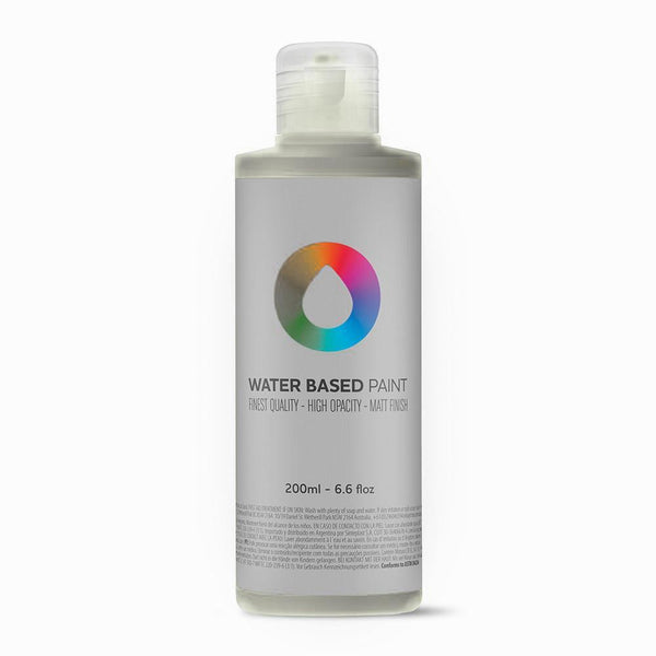 MTN Water Based Paint Refill - 200ml - Silver | Spray Planet