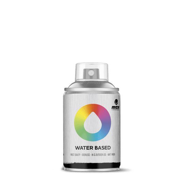 MTN Water Based 100 Spray Paint - Jewel Silver | Spray Planet