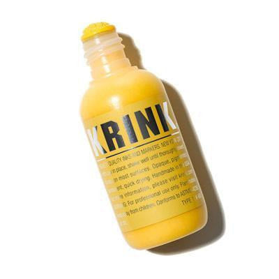 Krink K-60 Paint Marker Squeezer - Yellow | Spray Planet