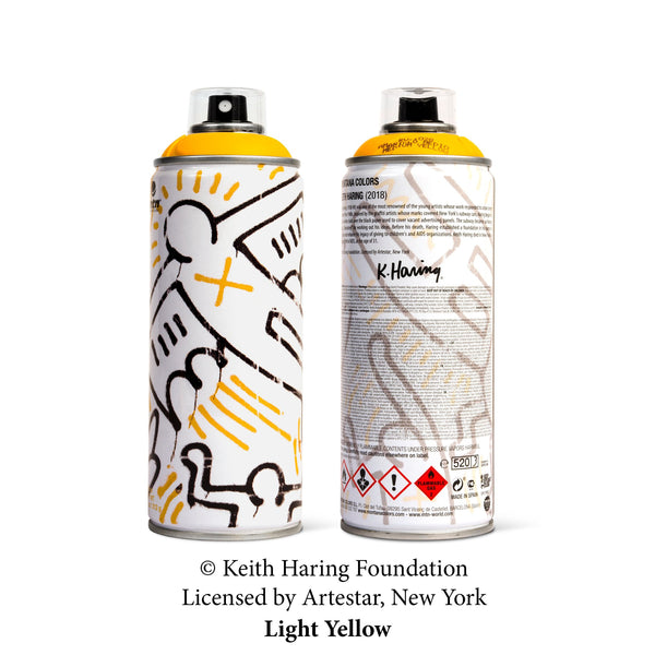 MTN Keith Haring Special Edition Artist Series Can - Light Yellow | Montana Colors | Spray Planet