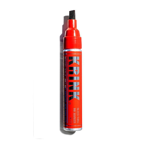 Krink K-73 Bleed Thru Marker - Red | Spray Planet