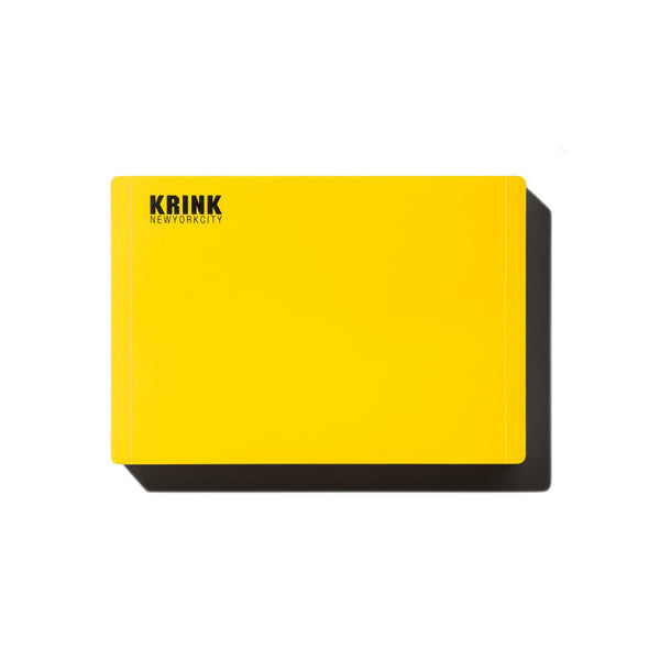 KRINK Super Permanent Stickers - Bright Yellow | Spray Planet