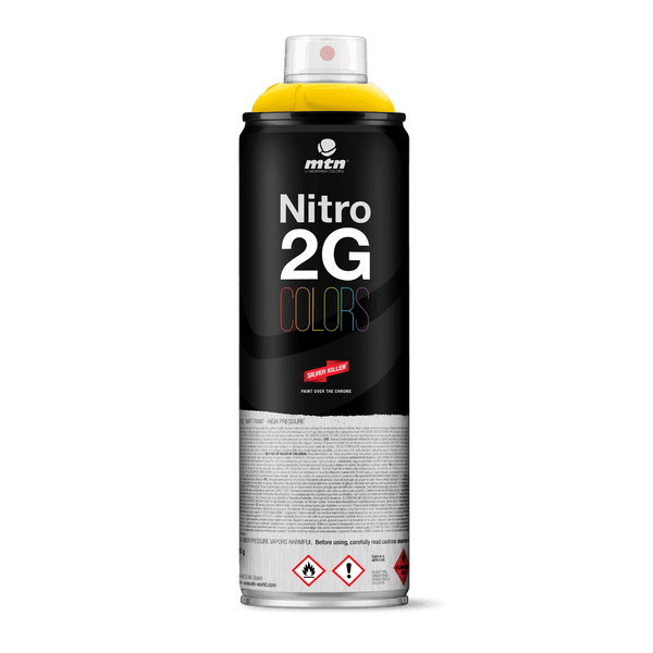 MTN Nitro 2G Colors Spray Paint - Light Yellow | Spray Planet
