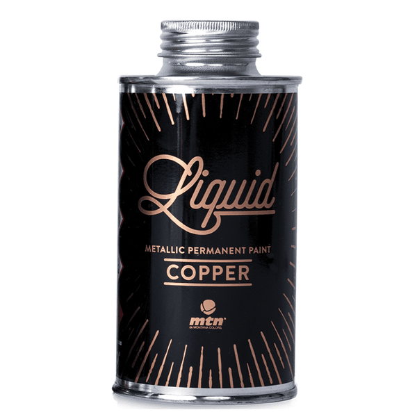 MTN Liquid Metallic Paint - Metallic Copper | Spray Planet